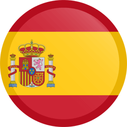 flag-button-round-Spain