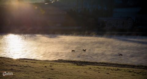 Morning in Givet, France